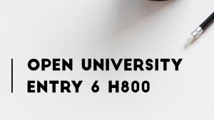 OU H800 Entry 6