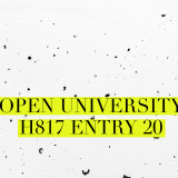 Open University H817